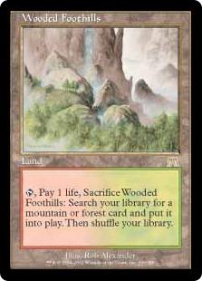 《樹木茂る山麓/Wooded Foothills》[ONS] 土地R