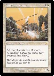 【Foil】《流刑の終末論者/Exiled Doomsayer》[SCG] 白R