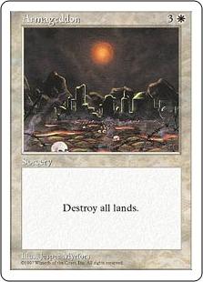 《ハルマゲドン/Armageddon》[5ED] 白R
