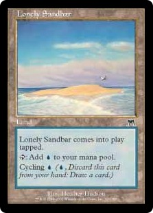 《孤立した砂州/Lonely Sandbar》[ONS] 土地C