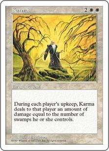 《因果応報/Karma》[5ED] 白U