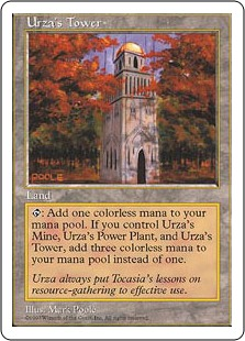 《ウルザの塔/Urza's Tower》[5ED] 土地C