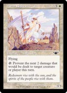 【Foil】《エイヴンの救い手/Aven Redeemer》[LGN] 白C