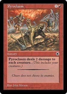 《紅蓮地獄/Pyroclasm》[POR] 赤R