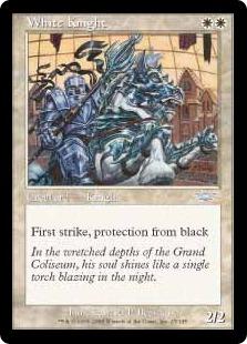 【Foil】《白騎士/White Knight》[LGN] 白U