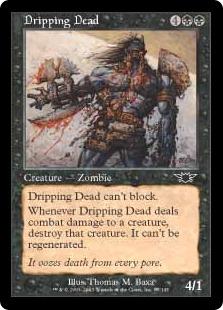 《したたる死者/Dripping Dead》[LGN] 黒C