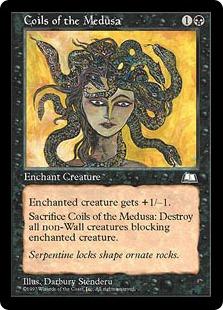 《メドゥーサの髪/Coils of the Medusa》[WTH] 黒C
