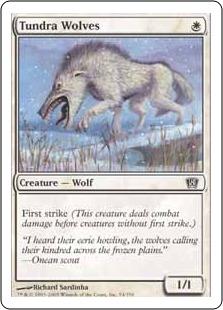 《ツンドラ狼/Tundra Wolves》[8ED] 白C