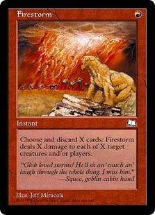 《炎の嵐/Firestorm》[WTH] 赤R