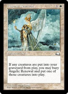 《蘇生の天使/Angelic Renewal》[WTH] 白C