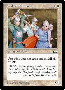《献身的民兵団/Ardent Militia》[WTH] 白C