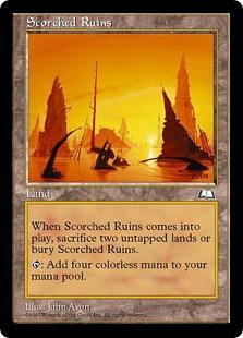《焦土/Scorched Ruins》[WTH] 土地R