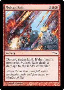 《溶鉄の雨/Molten Rain》[MRD] 赤C