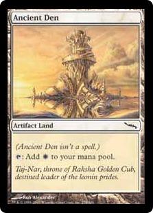 《古えの居住地/Ancient Den》[MRD] 土地C