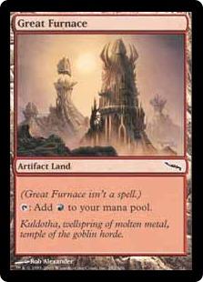 《大焼炉/Great Furnace》[MRD] 土地C