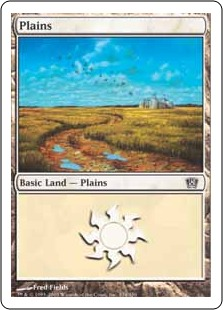 《平地/Plains》(334)[8ED] 土地