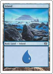《島/Island》(335)[8ED] 土地
