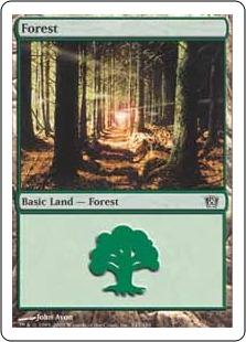 《森/Forest》(347)[8ED] 土地