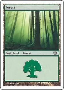 《森/Forest》(348)[8ED] 土地