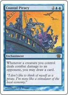 《沿岸の海賊行為/Coastal Piracy》[8ED] 青R