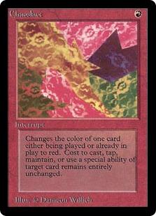 《混沌の色/Chaoslace》[LEB] 赤R