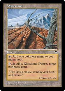 《不毛の大地/Wasteland》[TMP] 土地U