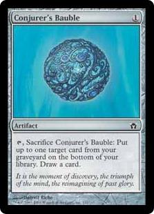 《妖術師のガラクタ/Conjurer's Bauble》[5DN] 茶C