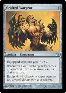 《融合する武具/Grafted Wargear》[5DN] 茶U