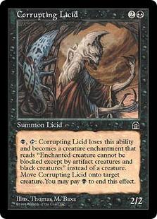 《堕落するリシド/Corrupting Licid》[STH] 黒U