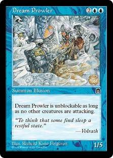 《夢でうろつくもの/Dream Prowler》[STH] 青C