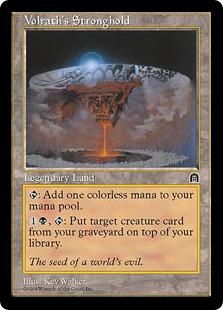 《ヴォルラスの要塞/Volrath's Stronghold》[STH] 土地R