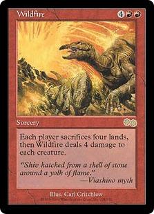 《燎原の火/Wildfire》[USG] 赤R