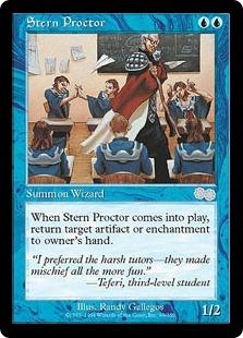 《厳格な試験監督/Stern Proctor》[USG] 青U