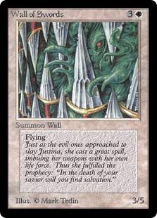 《剣の壁/Wall of Swords》[LEB] 白U