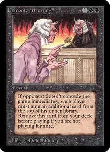 《Demonic Attorney》[LEA] 黒R