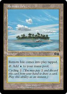 《離れ島/Remote Isle》[USG] 土地C