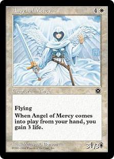 《慈悲の天使/Angel of Mercy》[PO2] 白U