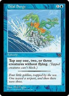 《打ち寄せる大波/Tidal Surge》[PO2] 青C