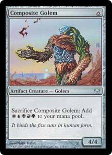 《合成ゴーレム/Composite Golem》[5DN] 茶U