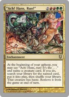 《Ach! Hans, Run!》[UNH] 金R