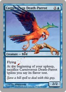 Carnivorous Death-Parrot