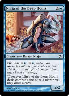 《深き刻の忍者/Ninja of the Deep Hours》[BOK] 青C