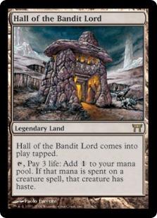 《山賊の頭の間/Hall of the Bandit Lord》[CHK] 土地R