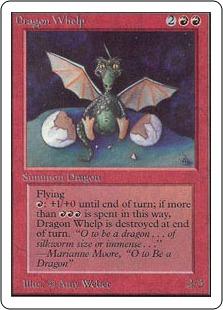 《チビ・ドラゴン/Dragon Whelp》[2ED] 赤U