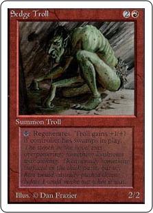《Sedge Troll》[2ED] 赤R