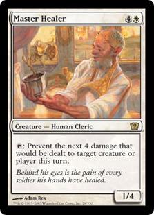 【Foil】《練達の癒し手/Master Healer》[9ED] 白R
