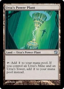 【Foil】《ウルザの魔力炉/Urza's Power Plant》[9ED] 土地U