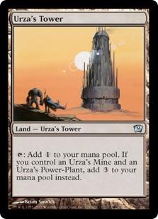 【Foil】《ウルザの塔/Urza's Tower》[9ED] 土地U