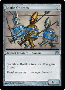 【Foil】《ボトルのノーム/Bottle Gnomes》[9ED] 茶U