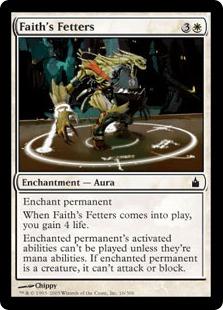 《信仰の足枷/Faith's Fetters》[RAV] 白C